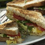 Sommer-sandwiches