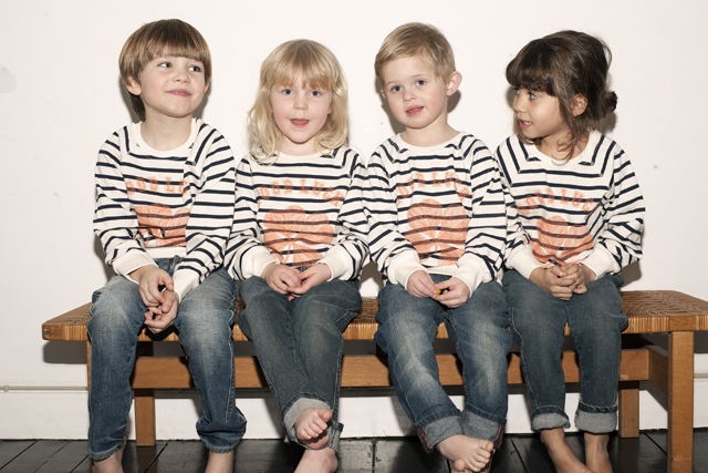 Ganni charity sweatshirt