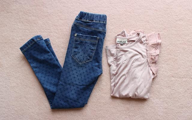 pompdelux prikkede jeans