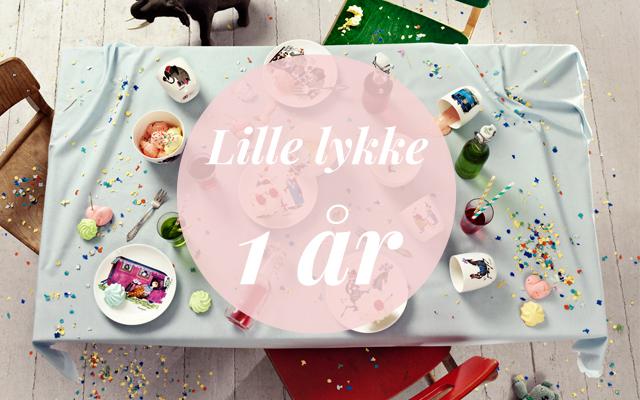 Blog indlæg Lille lykke 1 år
