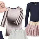 Navy, rosa, striber & palietter!