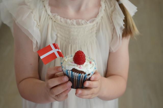 fødselsdag cupcake